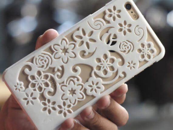 3d-modell iphone blumen