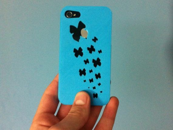 3d-modell iphone schmetterlinge 3d model butterflies