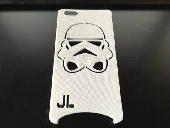 3d-modell iphone storm trooper 3d model case