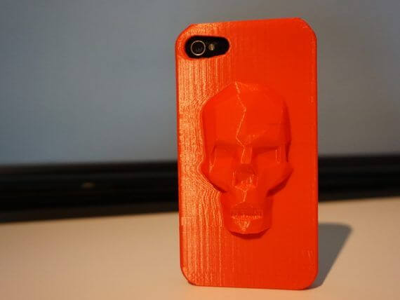 3d-modell iphone totenschaedel 3d model skull