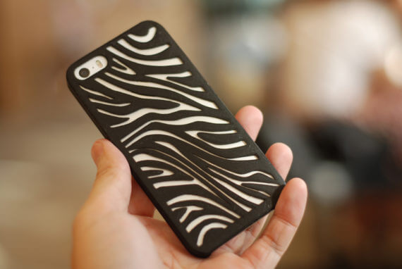 3d-modell iphone zebra