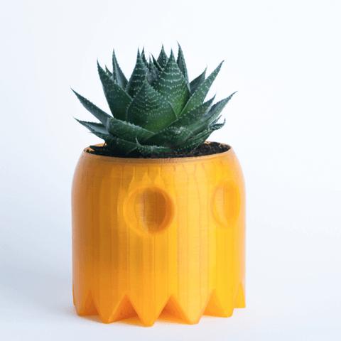 3d-modell pacman blumentopf 3d model planter