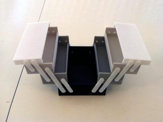 3d-modell werkzeugkasten