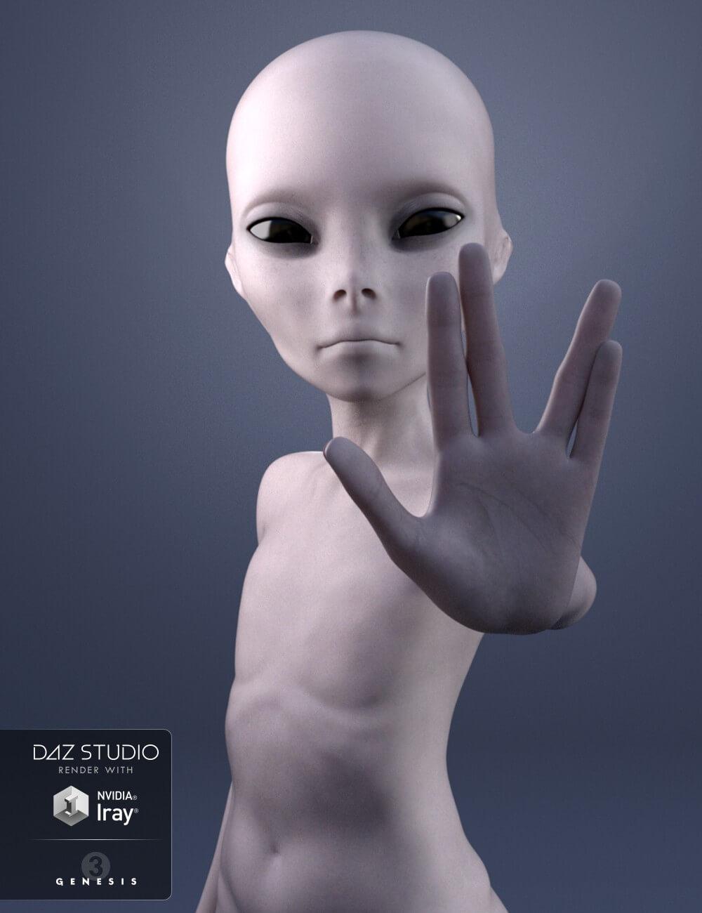 3d-modell alien 3d-model