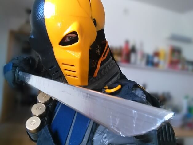 3d-modell cosplay deathstroke 3d model