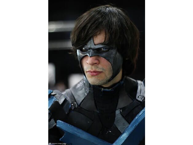 3d-modell cosplay nightwing 3d model