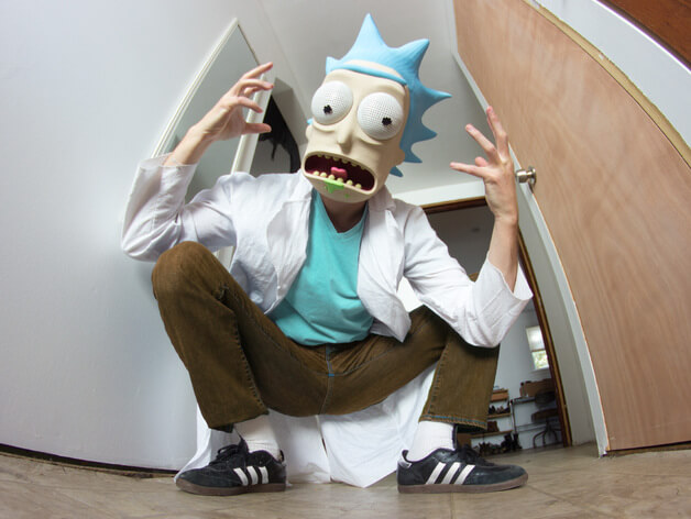 3d-modell cosplay rick sanchez 3d model