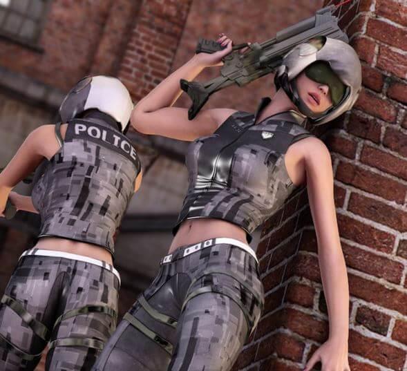 3d-modell future cop