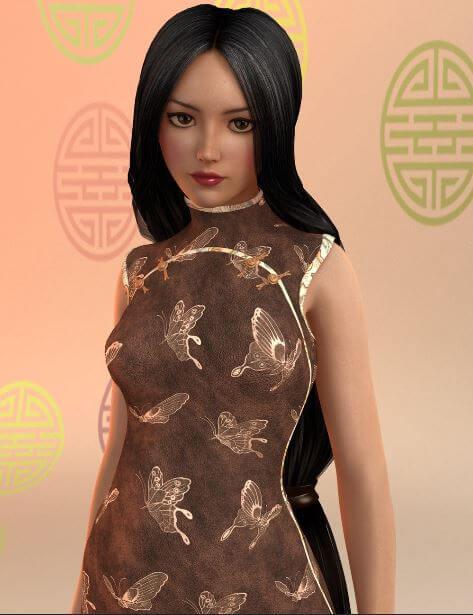 3d-modell shanghai style