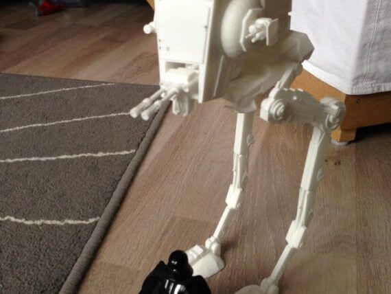 3d-modell star wars at-st