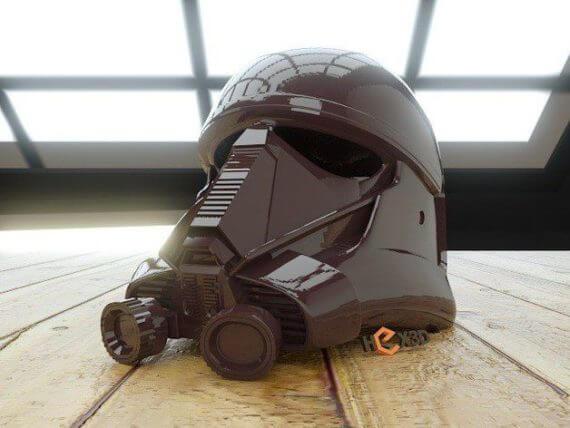 3d-modell star wars deathtrooper helm