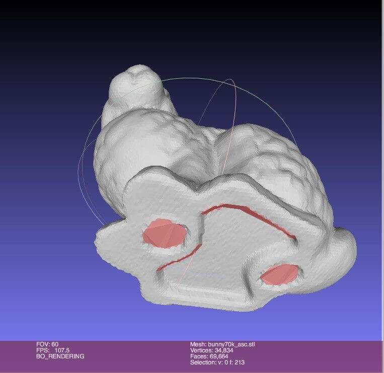 Demo Meshlab 3D-Printing-Tools