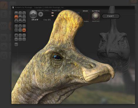 Sculptris 3D Modeller