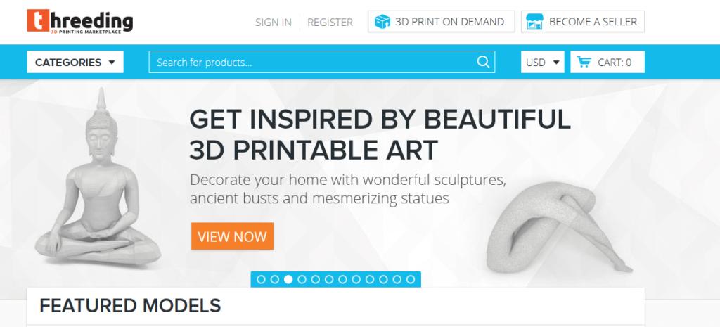 threeding 3d printing models