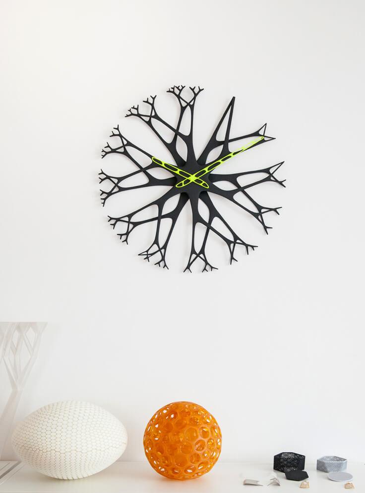 werteloberfell 3d printing design wall clock