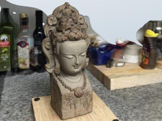 3d-modell buddha 3d model