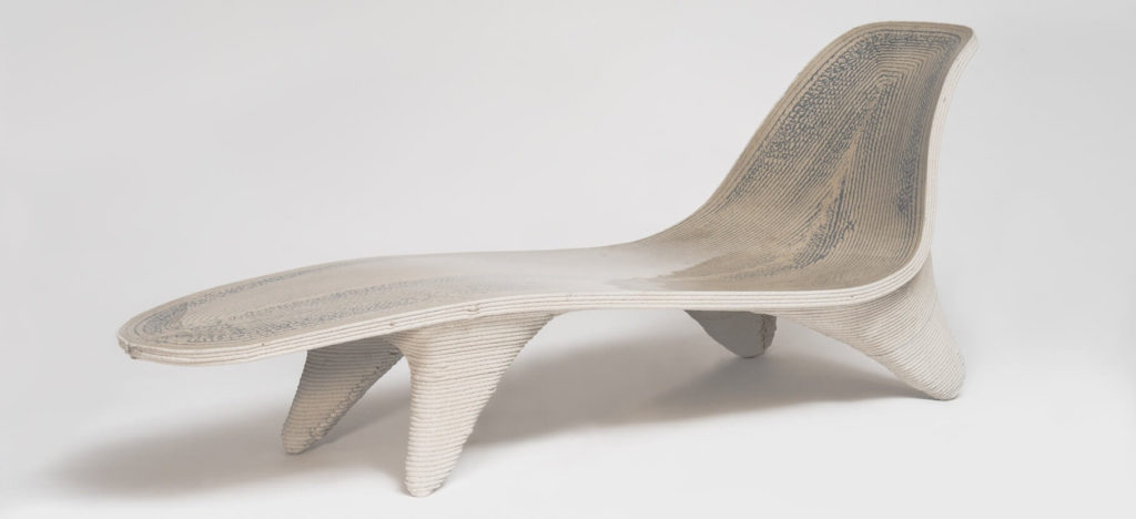 3d printed digital chaiselongue designer philipp aduatz