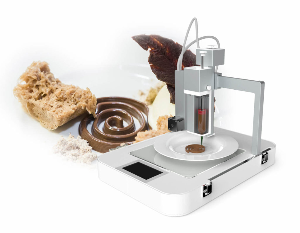 food 3d printer focus be flow