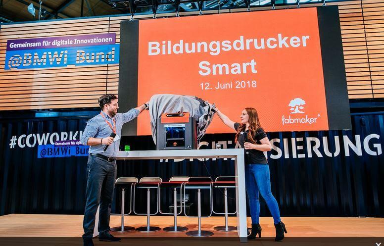 3d-drucker fabmaker bildungsdrucker smart