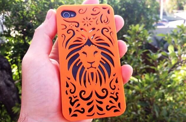 3d-modell-iphone-huelle-loewe-3d-model-case-lion
