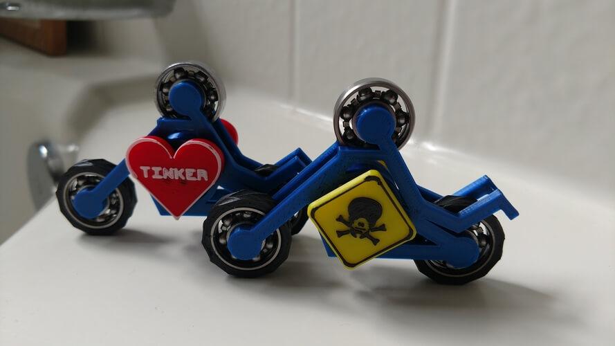 3D-modell fidget spinner 3d model