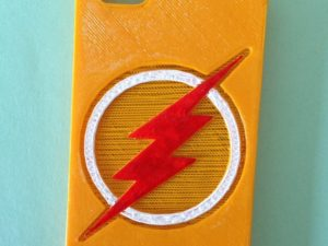 3d-modell-iphone-huelle-blitz-3d-model-flash