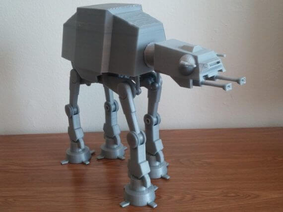 3d-modell star wars at-at 3d model