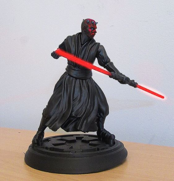 3d-modell star wars darth maul 3d model