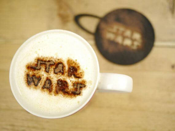 3d-modell star wars kaffeeschablone 3d model
