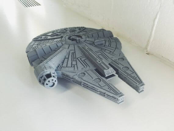 3d-modell star wars millennium falcon 3d model