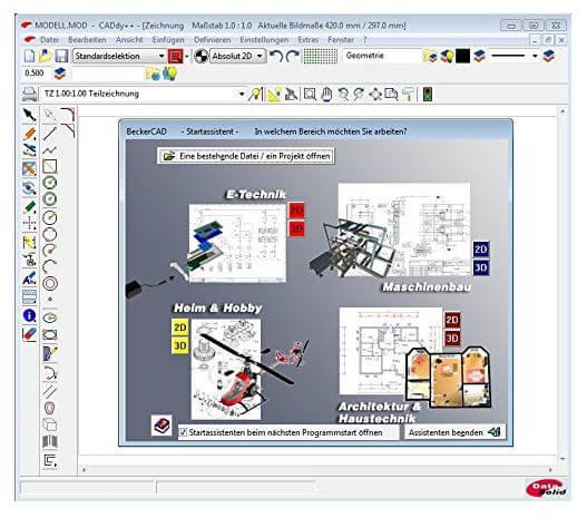 3d-software becker cad 10