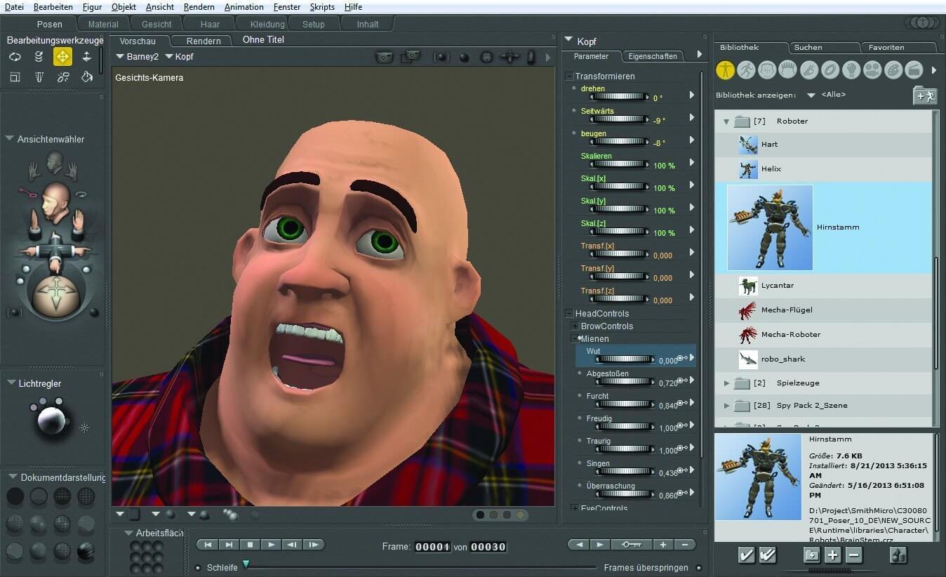 3d-software poser 10