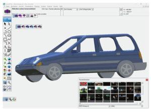 3d-software via cad 3d pro