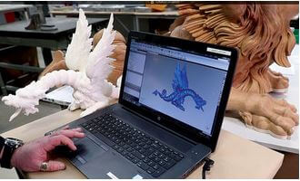 3d-systems 3d-gedruckte drachen replika software