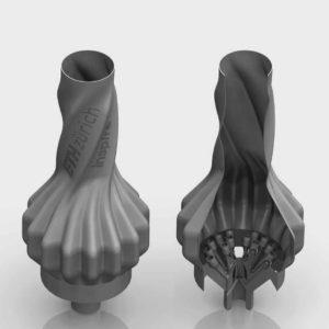 3d-gedruckter gaskocher modell eth zürich