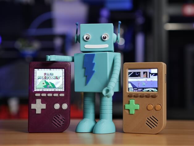 3d-modell 3d-model gameboy mini