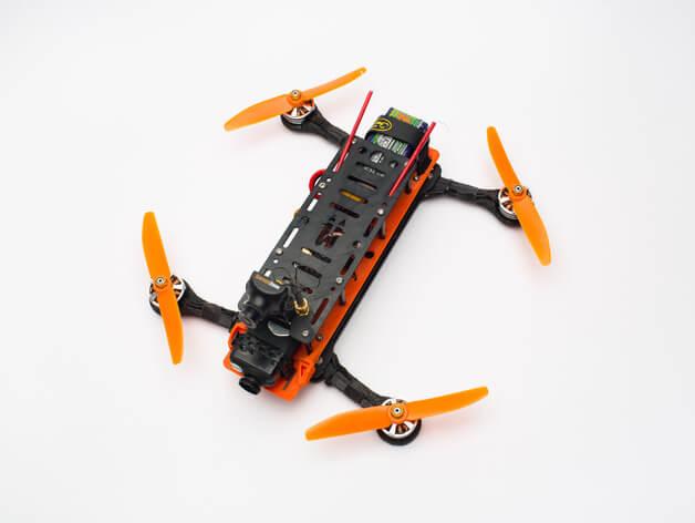 3d-modell 3d model quadcopter Hovership MHQ v2