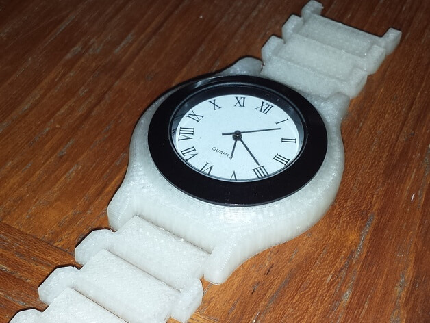 3d-modell armbanduhr 3d model wristwatch