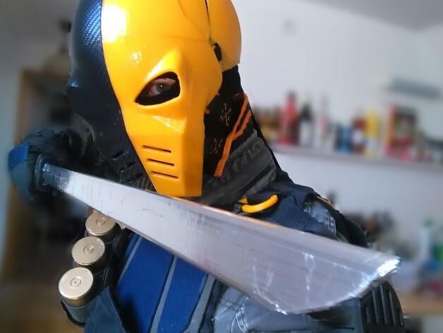 3d-modell cosplay deathstroke 3d model