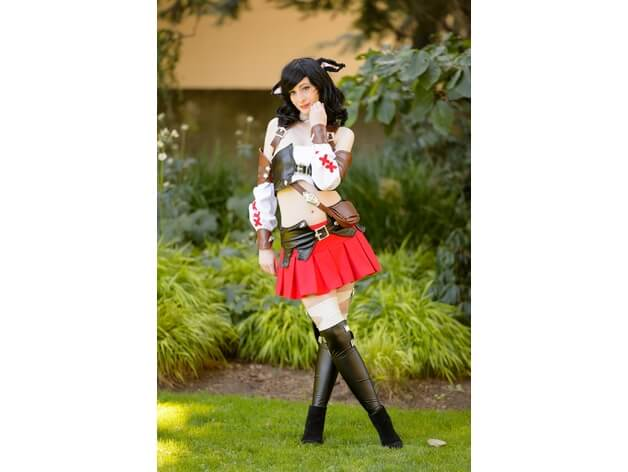 3d-modell cosplay miqo'te 3d model
