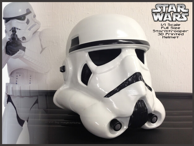 3d-modell cosplay star wars stormtrooper 3d model