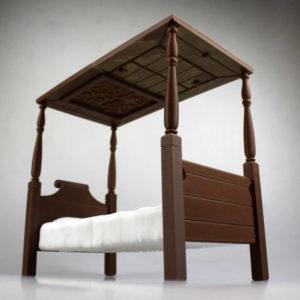 3d-modell frida kahlo bett 3d model bed