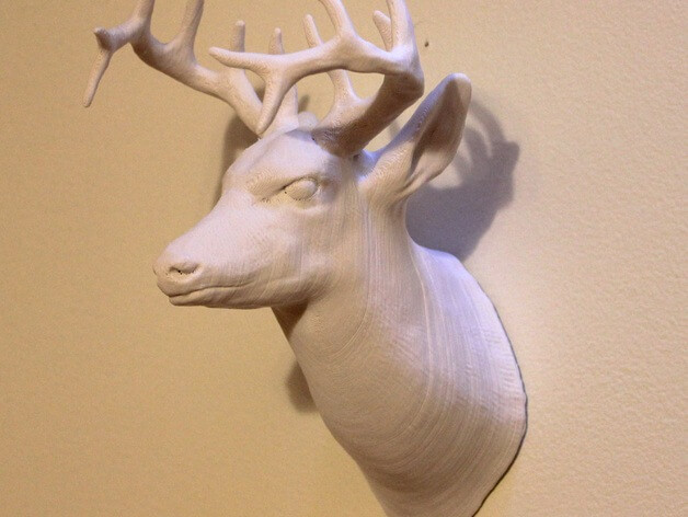 3d-modell hirsch 3d model deer