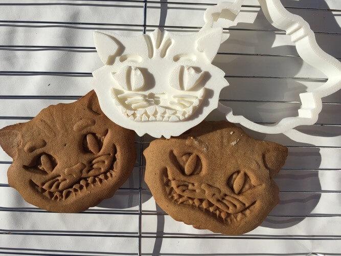 3d-modell katzen keksausstecher 3d model cat cookie cutter