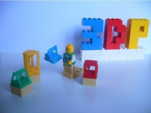 3d-modell lego mini 3d-drucker 3d model 3d printer