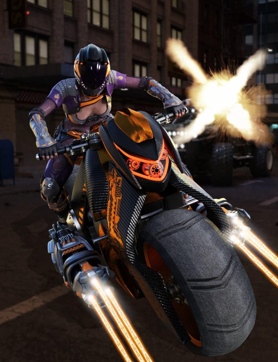 3d-modell motorrad 3d-model motorcycle