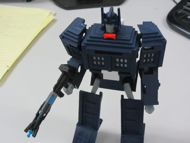 3d-modell transformers 3d model