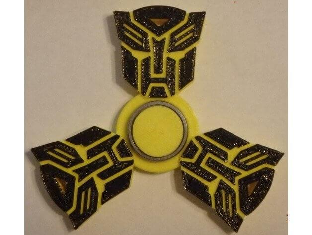 3d-modell transformers fidget spinner 3d model