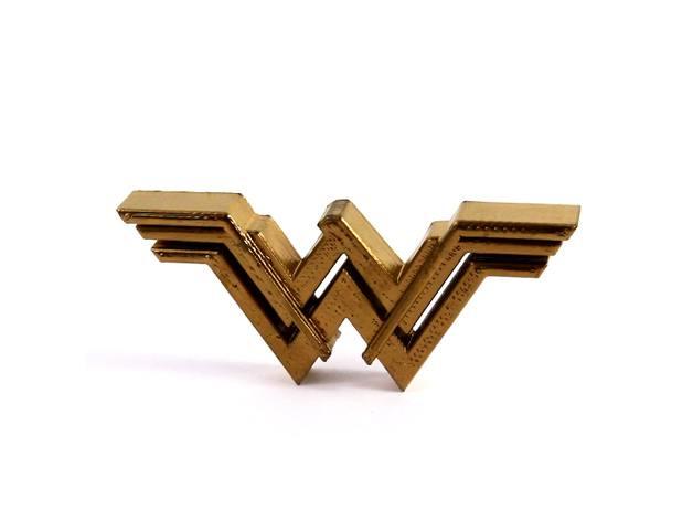 3d-modell wonder woman logo 3d-model