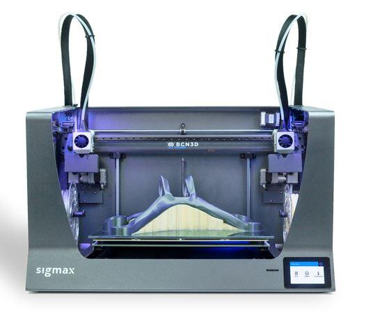 3d-drucker bcn3d sigmax release2019 3d-printer